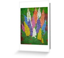 Garden  Lupine Greeting Card