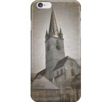 Evangelical Cathedral Sibiu iPhone Case/Skin