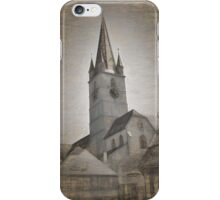 Evangelical Cathedral Sibiu iPhone Case/Skin