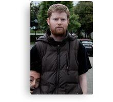 Headshot Film Director Conor McMahon Canvas Print