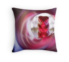 Gummy Bear Photography - What is Photography Throw Pillow