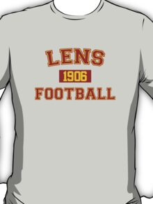 Lens Football Athletic College Style 1 Gray T-Shirt