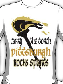 Pittsburgh Rocks Sports T-Shirt