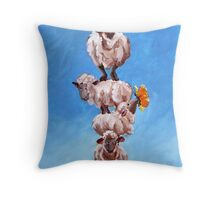 Tower of Baaabel Throw Pillow