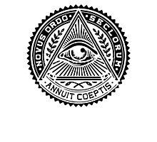 Anti New World Order - Novus Ordo Seclorum Photographic Print
