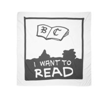 Book Club - I WANT TO READ Scarf