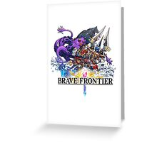 brave frontier Greeting Card