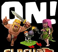 Clash ON! Basic Farming Troops by renegade1984