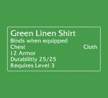 Green Linen Shirt by DPSmachine