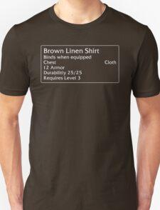 Brown Linen Shirt T-Shirt