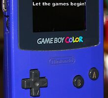 Gameboy color Birthday Present by marc2478