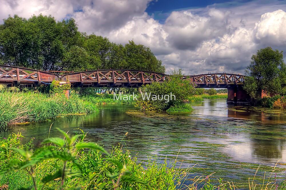 Railway Bridge over the Avon by Mark Waugh