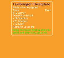 Lawbringer Chestplate Unisex T-Shirt