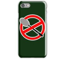 There is no Spoon? iPhone Case/Skin