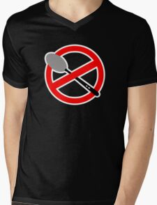 There is no Spoon? Mens V-Neck T-Shirt
