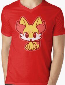 Chibi Fennekin Mens V-Neck T-Shirt