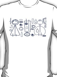 Children - blue design T-Shirt