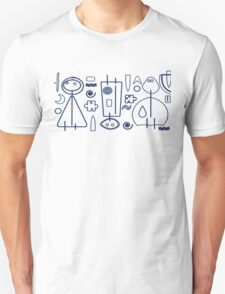 Children - blue design T-Shirt