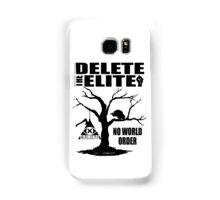 Illuminati - Delete The Elite Samsung Galaxy Case/Skin