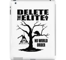 Illuminati - Delete The Elite iPad Case/Skin