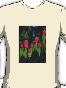 Tulips from the Avian Estates ABSTRACT T-Shirt