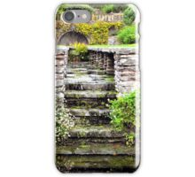 Floral canal iPhone Case/Skin