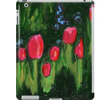 Tulips from the Avian Estates ABSTRACT iPad Case/Skin