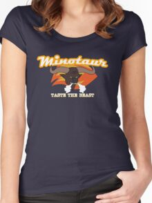 Minotaur Energy Drinks Women's Fitted Scoop T-Shirt