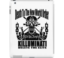 Death To The New World Order iPad Case/Skin