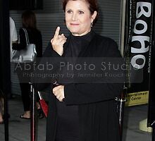 Princess Leia Flips Us Off..... For Fun by abfabphoto