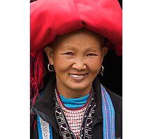 Red Dzao Woman - Sapa, Vietnam Photographic Print