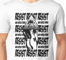 Resist The New World Order Unisex T-Shirt