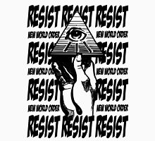 Resist The New World Order Unisex T-Shirt
