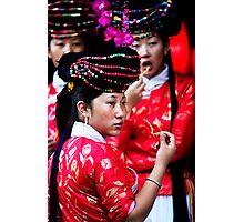 Bar Girls - Lijiang, China Photographic Print