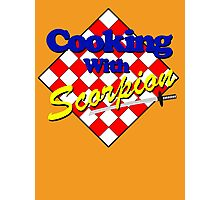 Cooking with Scorpion Photographic Print