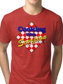 Cooking with Scorpion Tri-blend T-Shirt