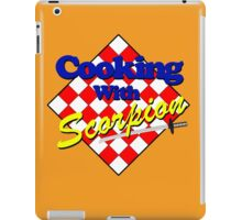 Cooking with Scorpion iPad Case/Skin