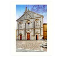 The Cathedral of Santa Maria Assunta Art Print