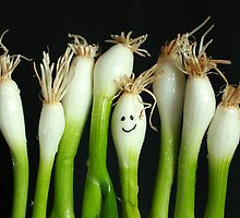Happy Onions by Steve Woods