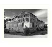 Italian Castles - Castle Of Roccabianca Art Print
