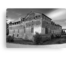 Italian Castles - Castle Of Roccabianca Canvas Print