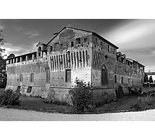 Italian Castles - Castle Of Roccabianca Photographic Print