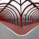 Red Walkway by lukefarrugia