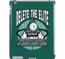 Delete The Elite iPad Case/Skin