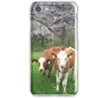 Curious Calves iPhone Case/Skin