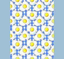 Eggs (blue gingham) Unisex T-Shirt