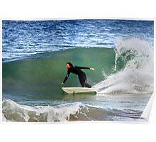 Surfing at Kiama Poster