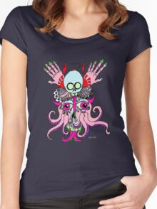 squiddemon Women's Fitted Scoop T-Shirt