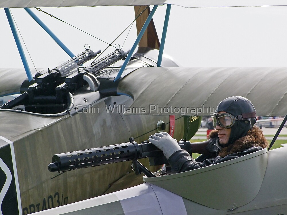 """Neil"" the New Rear Gunner !! (Very Quiet !!) by Colin  Williams Photography"