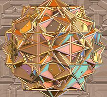 Complex Polygon 2 by Hypnogoddess